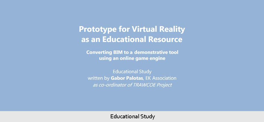 Prototype for Virtual Reality - Educational Study